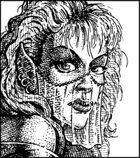 Clipart Critters 150 - Elven Harem Girl