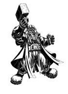 Tobyart 003 - Dwarf Nail Hunter