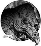 Clipart Critters 189 - Vulture Demon