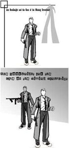 Ace Goodknight: The Case of the Missing Sweetheart/The Case of the Missing Manuscript