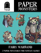 Yeld Paper Monsters: Fairy Warband