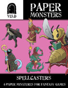 Yeld Paper Monsters: Spell Casters