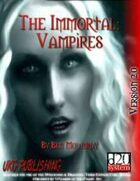 The Immortal: Vampires