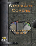 StockArt Covers: Leather Bound Book IX