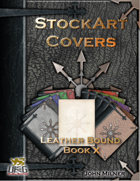 StockArt Covers: Leather Bound Book X