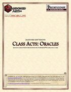 Class Acts: Clerics