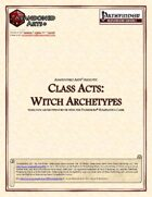 Class Acts: Witch Archetypes