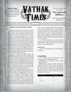 Vathak Times Issue 3 (Shadows over Vathak)