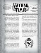 Vathak Times Issue 4 (Shadows over Vathak)