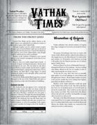 Vathak Times Issue 5 (Shadows over Vathak)