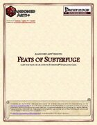 Feats of Subterfuge