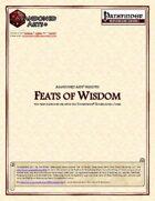 Feats of Wisdom