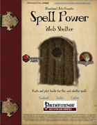 Spell Power: Web Shelter