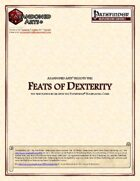 Feats of Dexterity