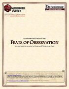 Feats of Observation