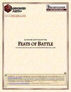 Feats of Battle