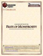 Feats of Monstrosity