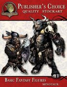 Publisher's Choice - Basic Fantasy Figures (Minotaurs)