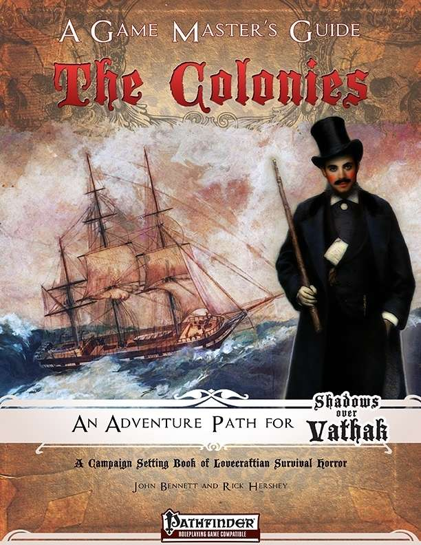 Shadows over Vathak: Colonies - Game Master's Guide