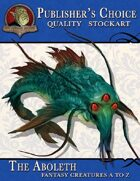 Publisher's Choice - Creatures A to Z: Abolith