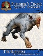 Publisher's Choice - Creatures A to Z: Barghest