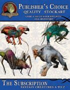 Publisher's Choice - Creatures A to Z: Subscription