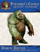 Publisher's Choice - Creatures A to Z: Demon Dretch