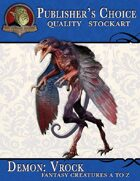 Publisher's Choice - Creatures A to Z: Demon Vrock