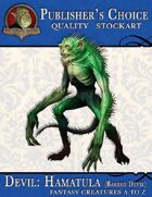 Publisher's Choice - Creatures A to Z: Devil Hamatula (Barbed Devil)