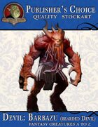 Publisher's Choice - Creatures A to Z: Devil Barbazu (Bearded Devil)