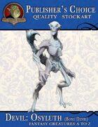 Publisher's Choice - Creatures A to Z: Devil Osyluth (Bone Devil)