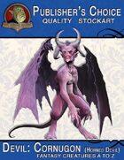 Publisher's Choice - Creatures A to Z: Devil Cornugon (Horned Devil)