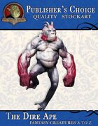 Publisher's Choice - Creatures A to Z: Dire Ape