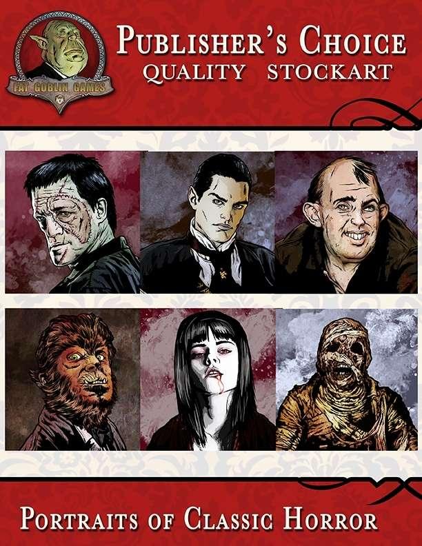 Publisher's Choice - Classic Horror Portraits