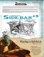 Sidebar #9 - Playing a Sidekick