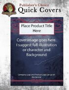 Publisher's Choice: Quick Covers #5