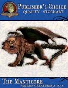 Publisher's Choice - Creatures A to Z: Manticore