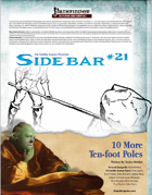 Sidebar #21 - 10 More Ten-Foot Poles