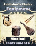 Publisher's Choice -Equipment: Musical Instruments