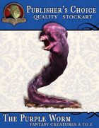 Publisher's Choice - Creatures A to Z: Purple Worm