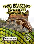 Kaiju Beastiary Kamon the Living Mountain