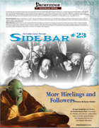 Sidebar #23 - More Hirelings and Followers!