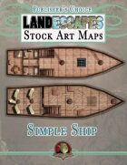 Publisher's Choice - LandEscapes: Stock Art Maps #2: Simple Ship