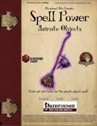 Spell Power: Animate Object