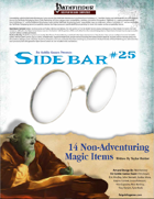 Sidebar #25 - 14 Non-Adventuring Magic Items