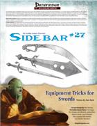Sidebar #27 - Equipment Tricks for Swords