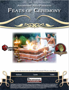 Feats of Ceremony