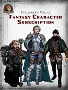 Publisher's Choice - Fantasy Character Subscription