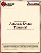 Amazing Races: Tieflings!