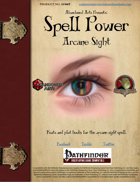 Spell Power: Arcane Sight - SP007